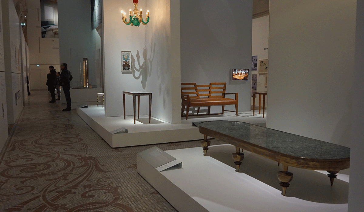Design italiano em destaque em Paris