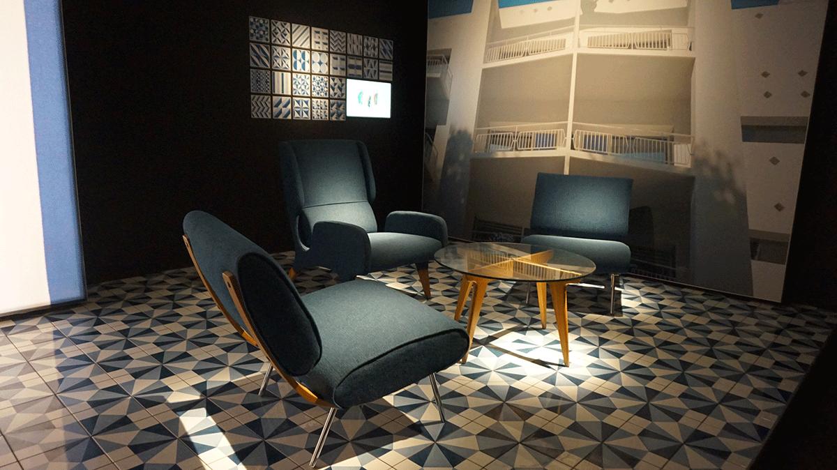 Ambientes projetados pelo arquiteto Gio Ponti