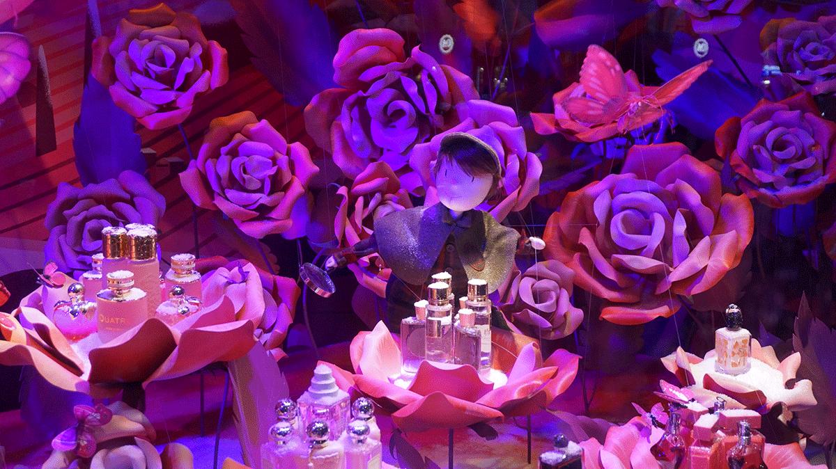 As melhores marcas de perfumes franceses nas vitrines de Natal.