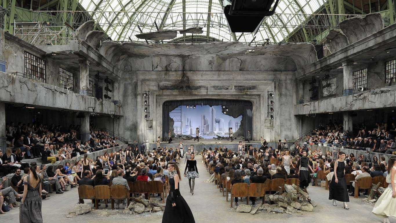 Desfile da Chanel no Grand Palais