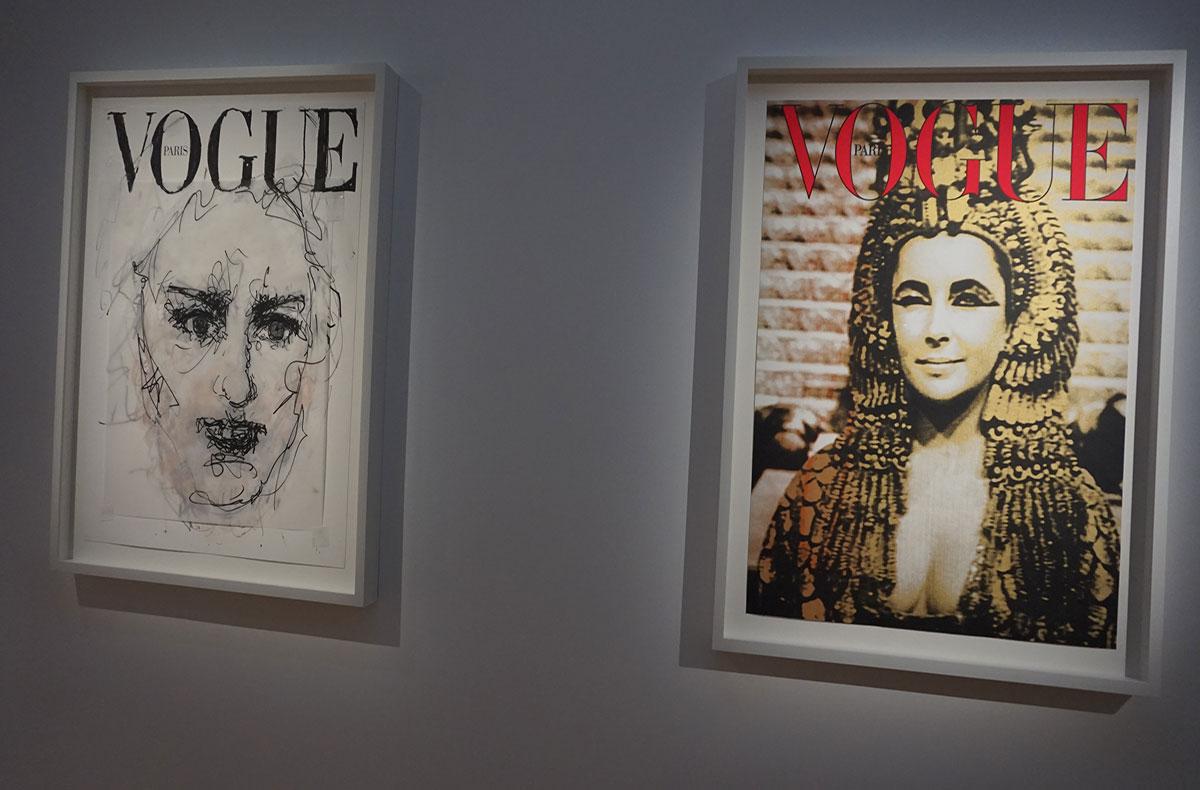 Madonna na exposição Vogue
