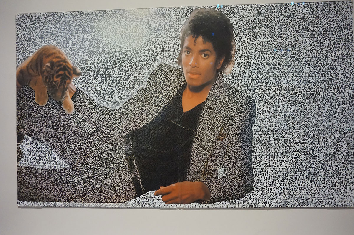 Michael Jackson no Grand Palais
