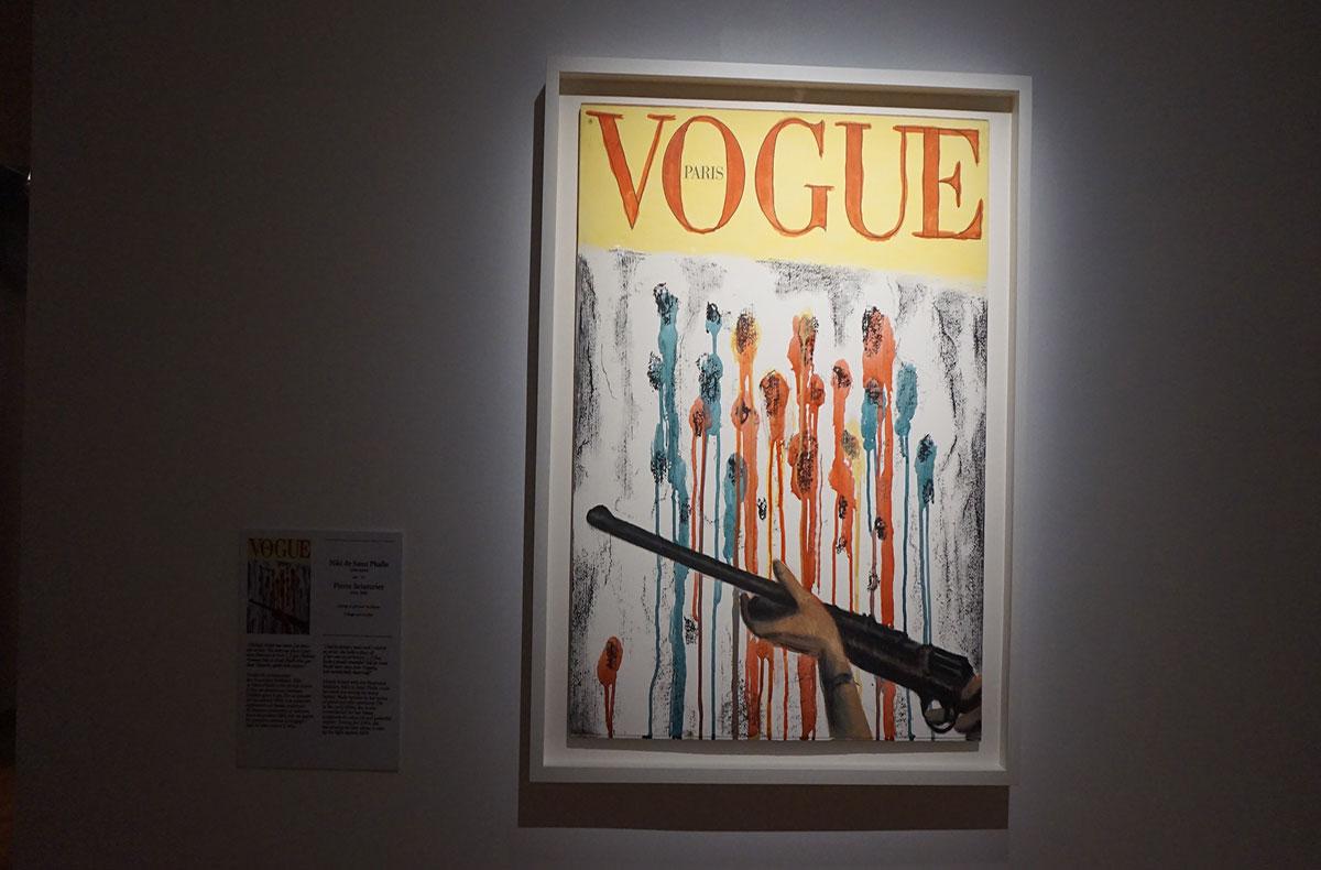 Artista francesa na capa da Vogue