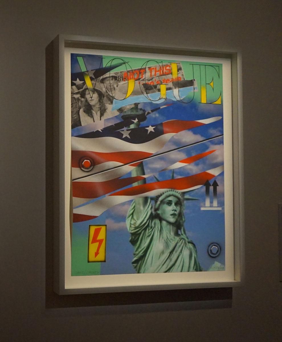 exposição une Vougue e ONU Paris