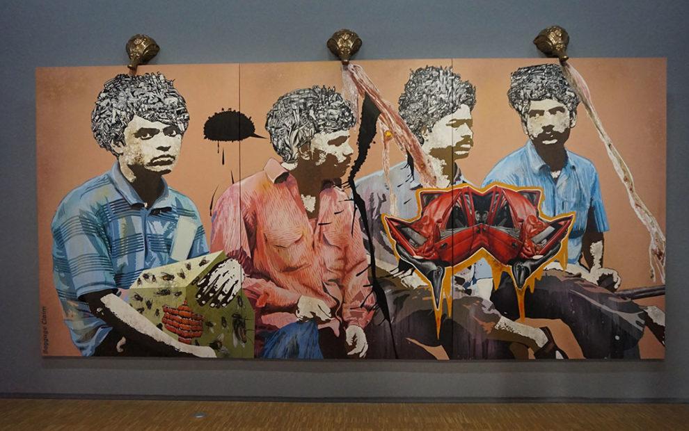 arte contemporânea no Pompidou