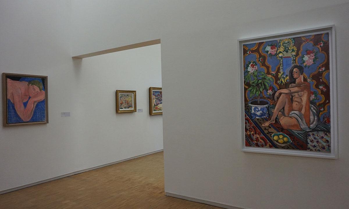 arte moderna no Pompidou em Paris