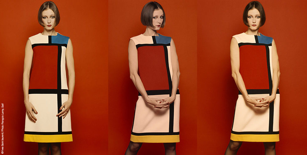 o famoso vestido Mondrian de Yves Saint Laurent