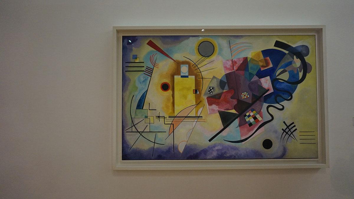 Kandinsky no Pompidou