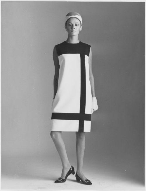 Yves Saint Laurent e o famoso vestido Mondrian