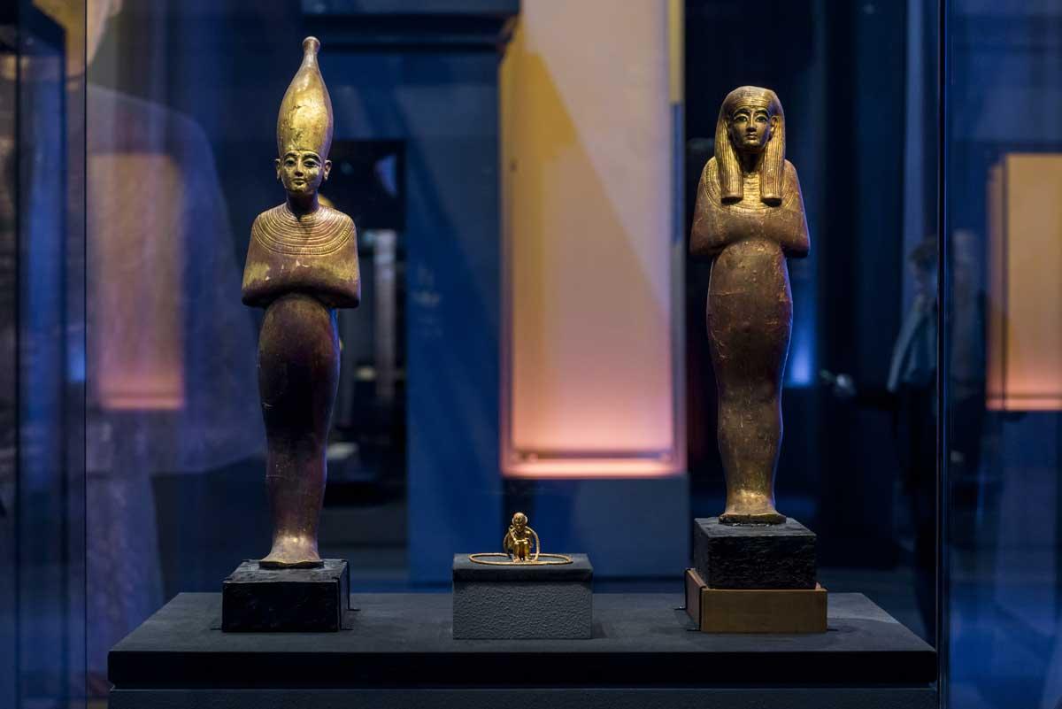 Exposição Tutancâmon em Paris