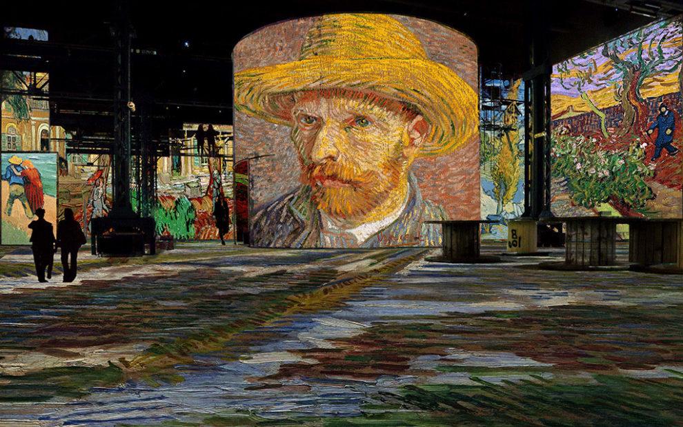 Van Gogh no Atelier des Lumières