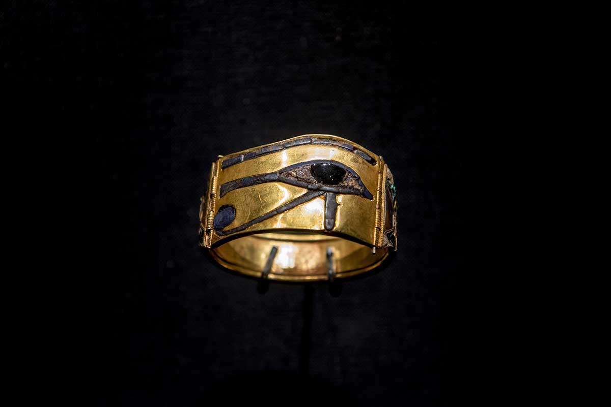 objetos de arte do Egito