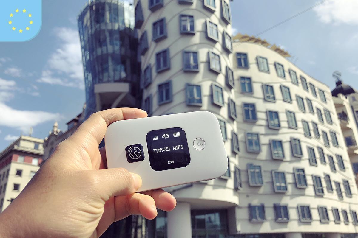 Travel Wifi acesso internet na viagem à França