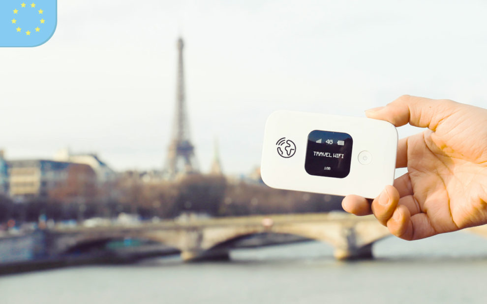 Travel Wifi internet em Paris