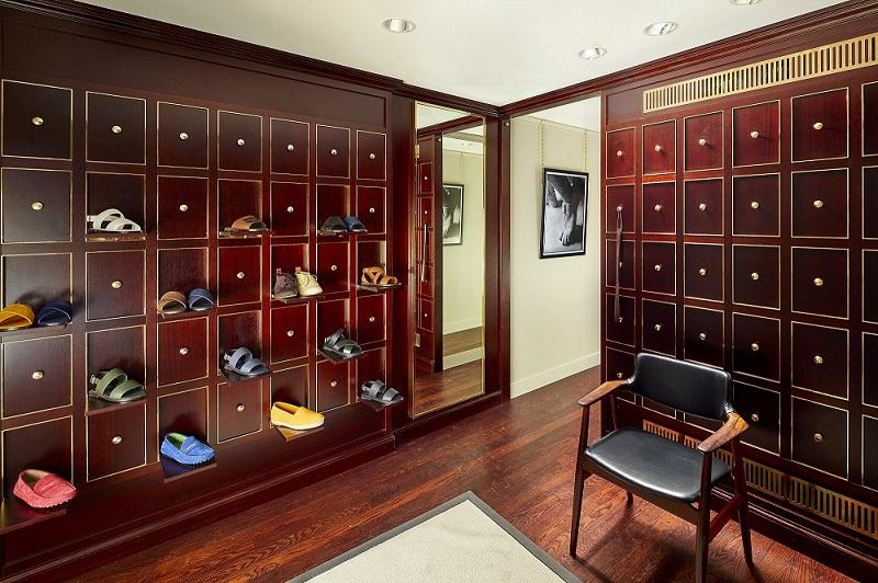 coleção masculina de sapatos Manolo Blahnik