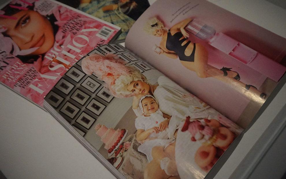 Maria-Antonieta inspiração na Harper's Bazaar