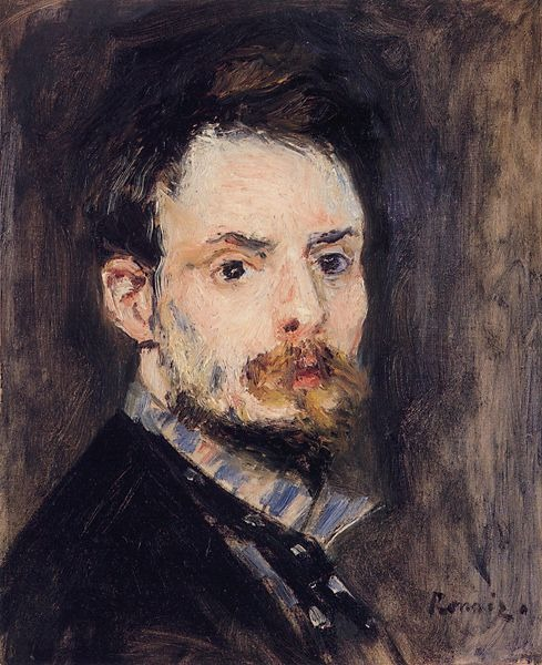 Autorretrato Renoir