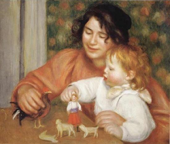 maternidade na pintura