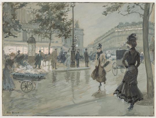 paris do século 19