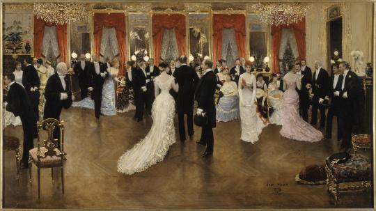 bailes elegantes em Paris