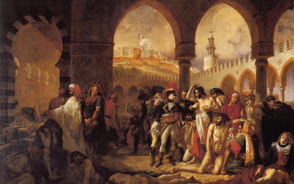 A peste na pintura Louvre