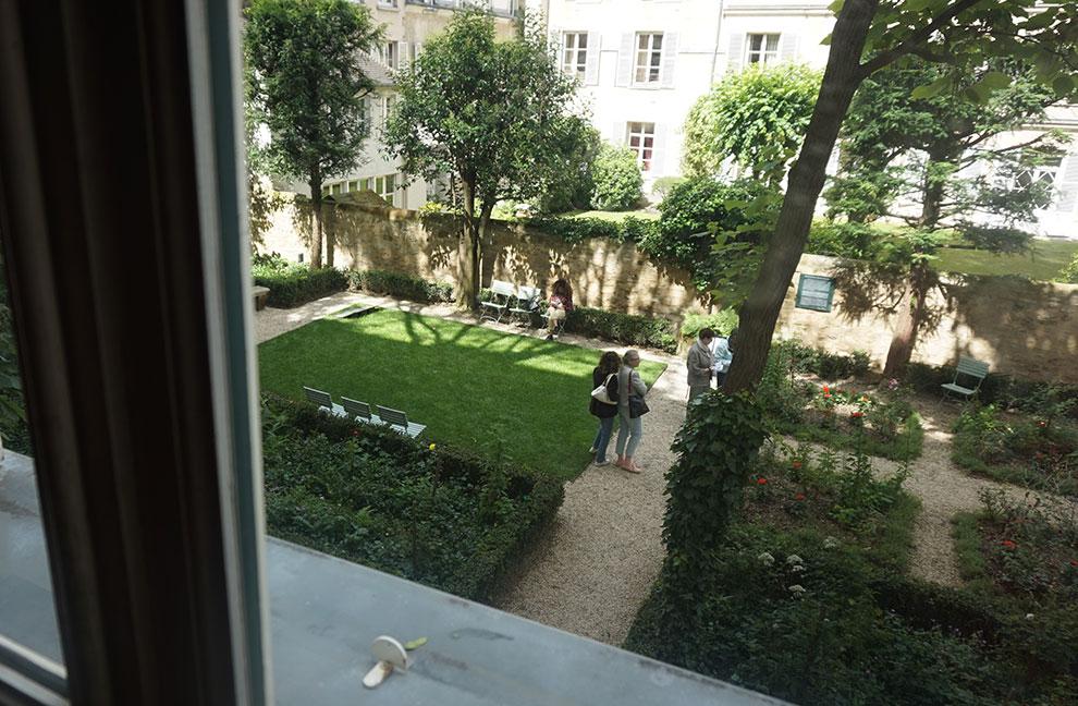 Jardim museu Delacroix