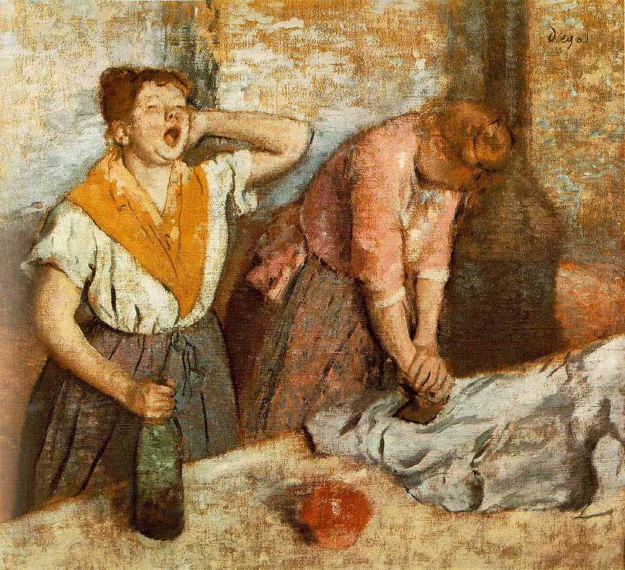 as passadeiras de Degas