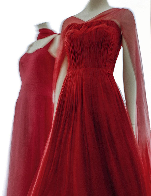 vestido vermelho Chanel