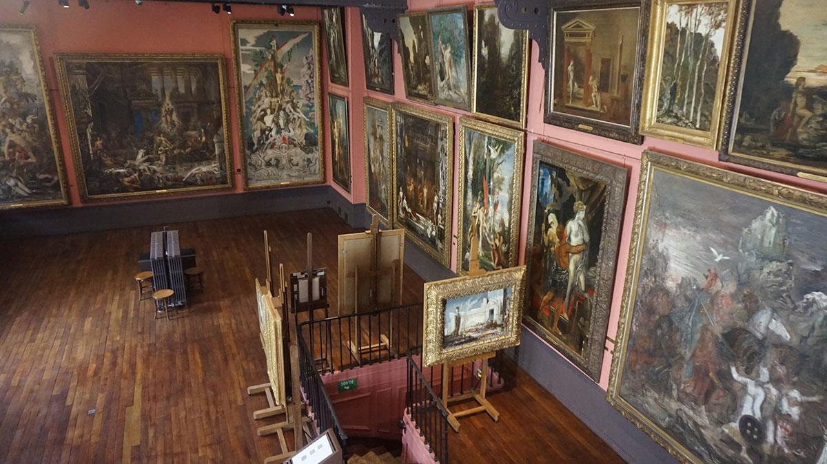 O museu atelier de Gustave Moreau