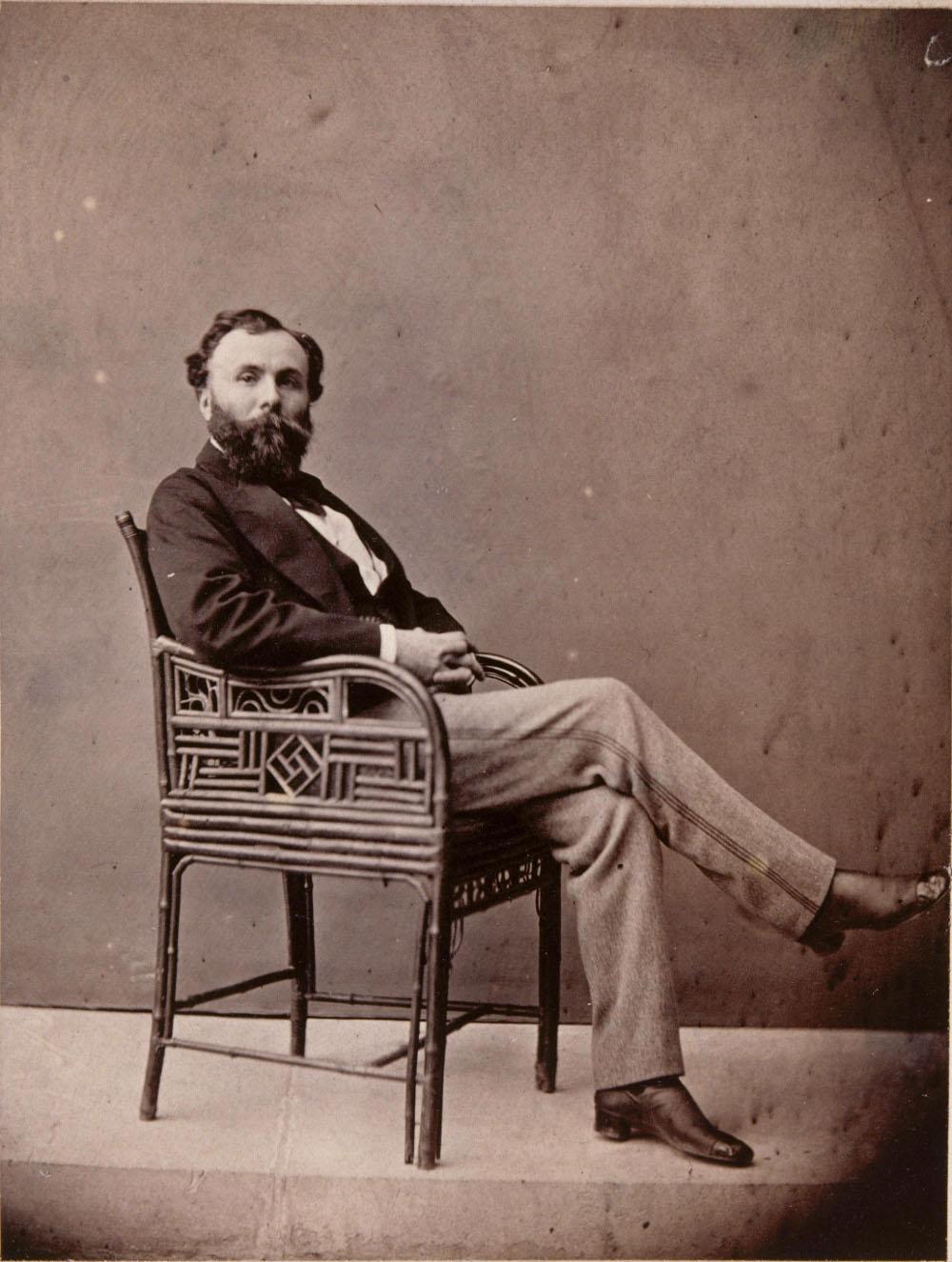 O pintor simbolista Gustave Moreau