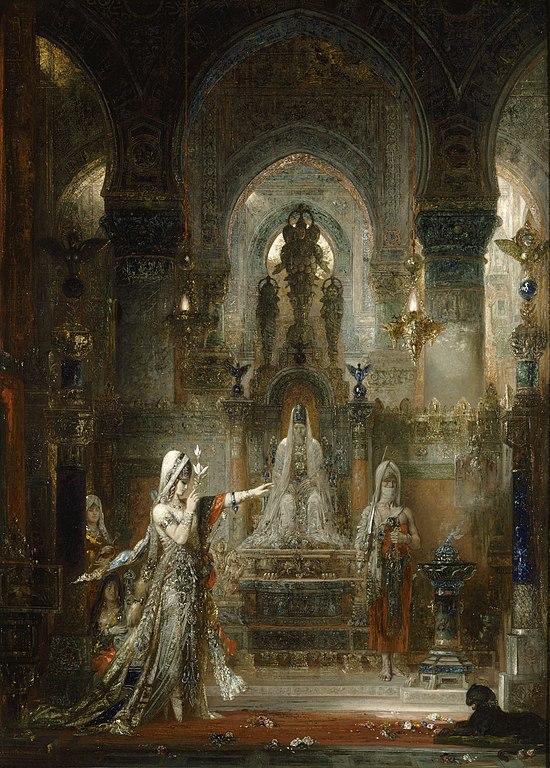 Mito de Salomé Gustave Moreau