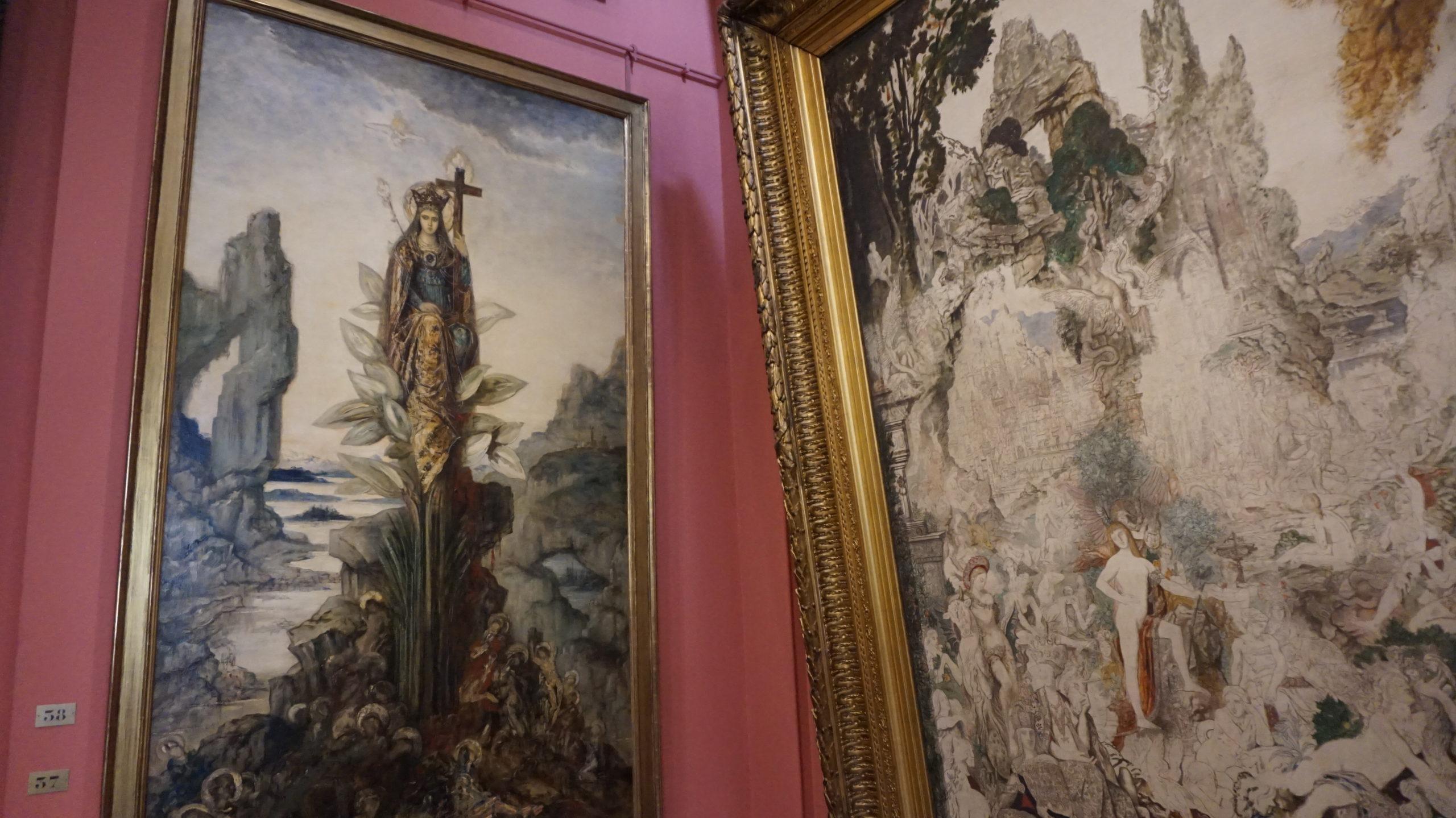 A arte misteriosa de Gustave Moreau