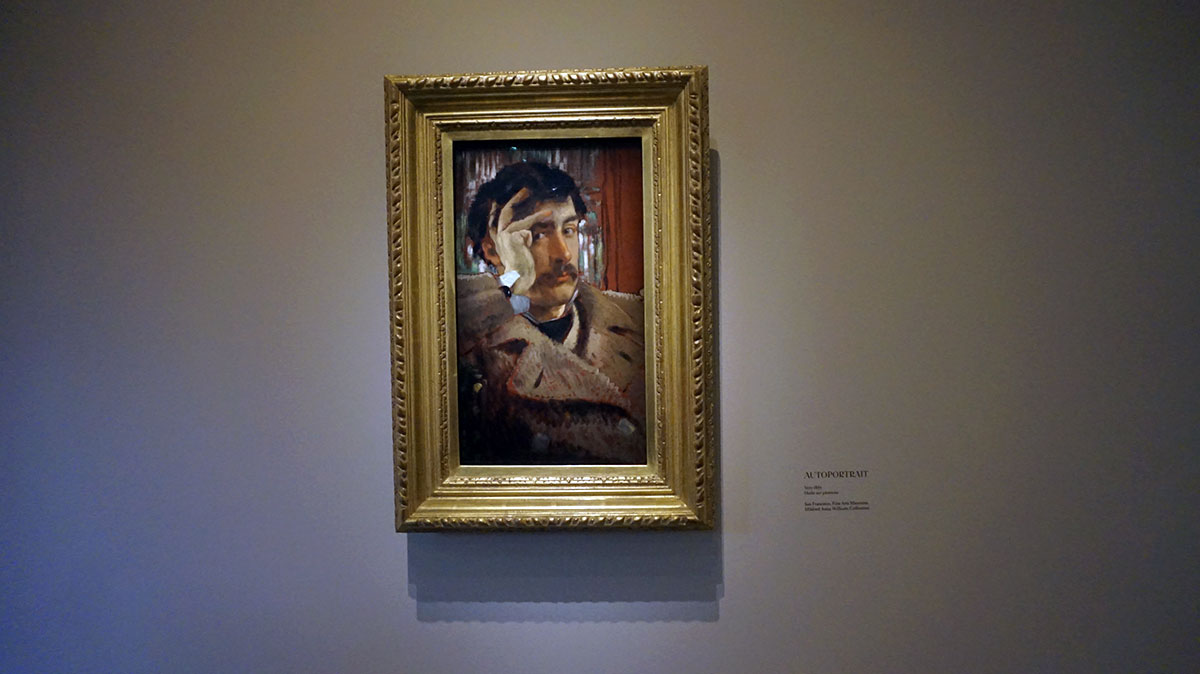 autorretrato de James Tissot
