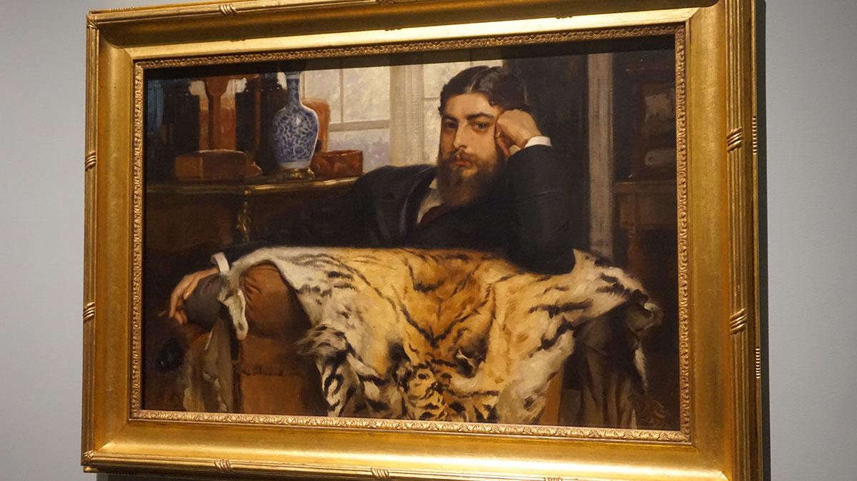 moda masculina na pintura de James Tissot