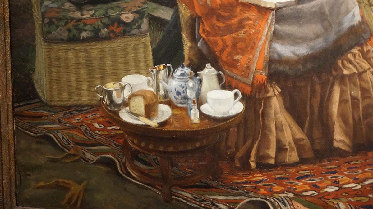 detalhe da pintura de Tissot