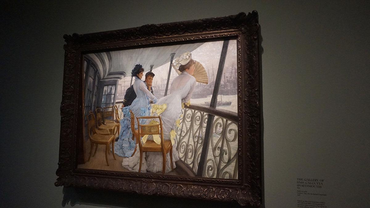 sociedade inglesa na pintura de Tissot