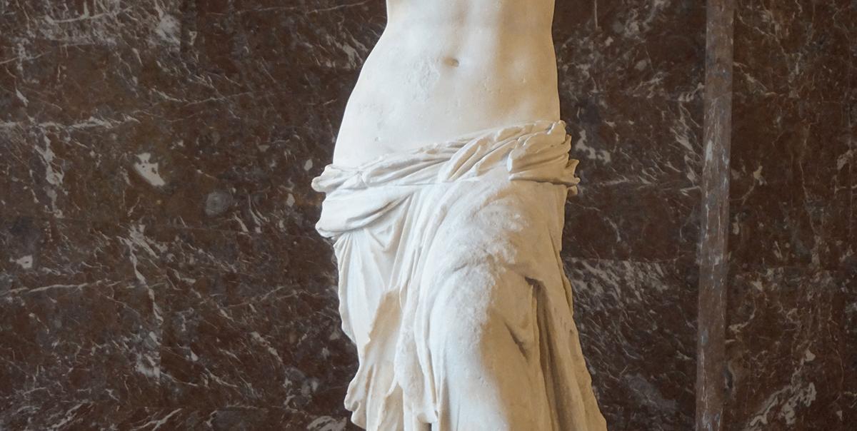 Vênus de Milo escultura grega