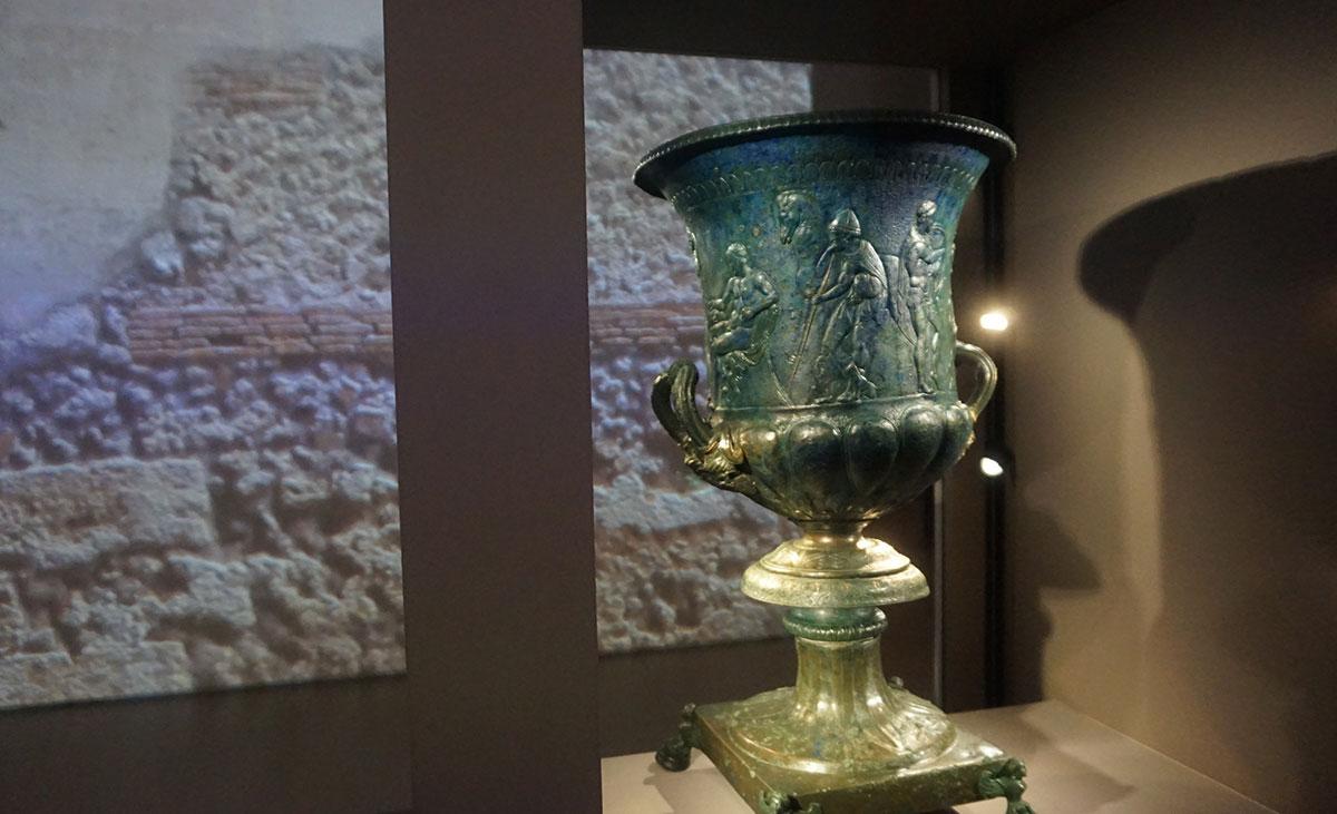 Pompeia vasos antigos